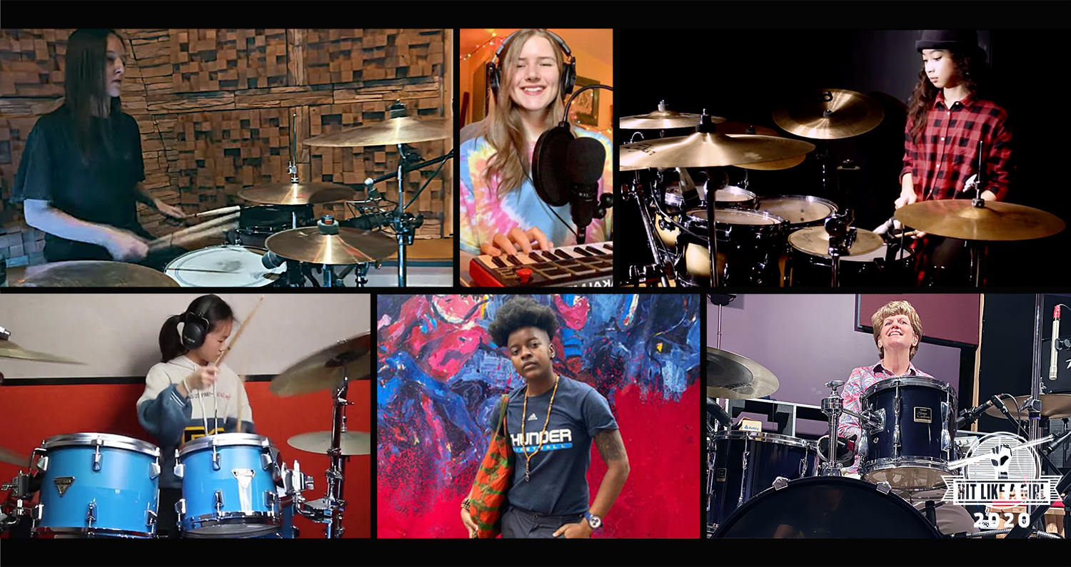 2020 Hit Like A Girl Contest For Female Drummers And Beatmakers.