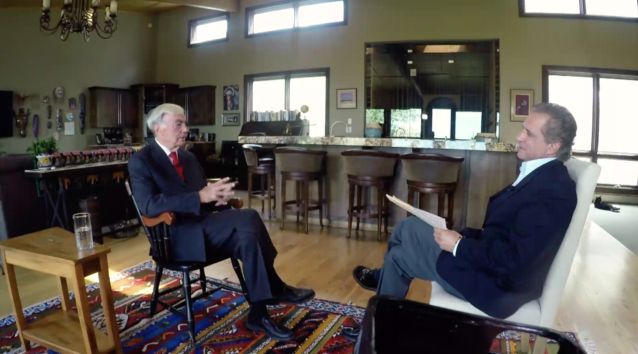 The 1960s Rediscovered, Sam Donaldson, former White House Correspondent, ABC News discusses 1960s politics with Tony Fama