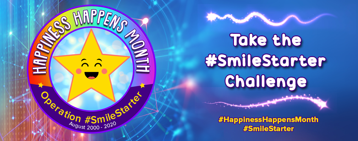 SOCIETY OF HAPPY PEOPLE CELEBRATES 21st ANNUAL HAPPINESS HAPPENS MONTH