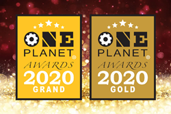 Makers Nutrition Wins Grand and Gold in the 5th Annual 2020 One Planet Awards