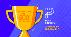 PathFactory Ranked 322nd Fastest-Growing Company in North America on Deloitte's 2020 Technology Fast 500™