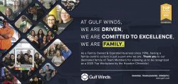 Gulf Winds International Recognized as a Top Workplace by the Houston Chronicle