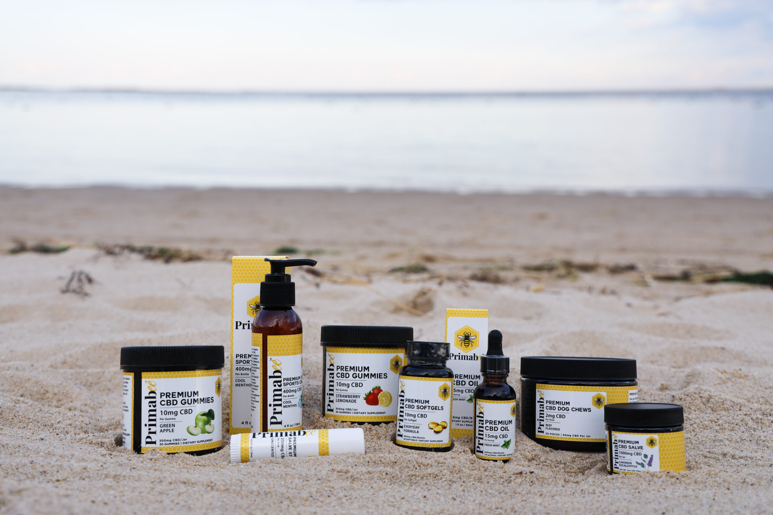Primabee CBD Cannabis Products