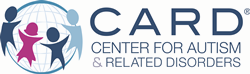 Center for Autism and Related Disorders (CARD), LLC Logo with children and globe