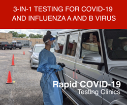 GMED Global Offers 3-in-1 Testing for COVID-19 and Influenza A and/or B Virus