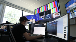 The remote, virtual-production package includes an internal communication platform form, as well as video, camera, lighting and web-conferencing tools, configured for seamless, reliable connectivity.