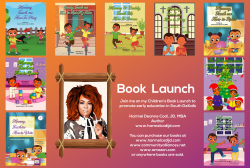 Harmel Codi, Author and Advocate, Publishes Children's Books to Promote Early Literacy in COVID-Related Homeschooling