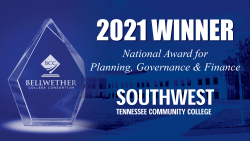 Southwest Tennessee Community College Wins Prestigious 2021 National Bellwether Award