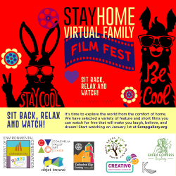 S.C.R.A.P. Gallery Launched Stay Home Family Film Fest