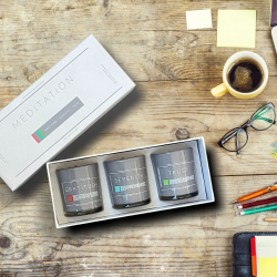 The Happiest Road Publishing Co. Announces Launch of Meditation Collection Candle Set