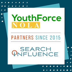 Youthforce NOLA partners since 2015 with Search Influence
