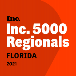 Reliant Roofing, Solar and Hurricane Shutters Ranks No. 202 on Inc. Magazine's List of Florida's Fastest-Growing Private Companies