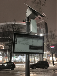 Papercast® e-paper displays in Lahti - European Green Capital of 2021