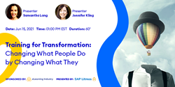 Training For Transformation: Changing What People Do By Changing What They Know