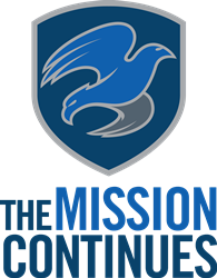 Logo image of The Mission Continues organization