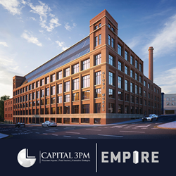 Capital 3PM and Empire Announce International Exclusivity Arrangement for New Ethical UK Property Investment Bond Scheme